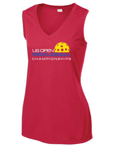 US Open Pickleball Signature Performance V-Neck Tank
