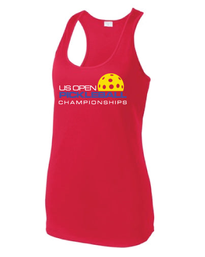 US Open Pickleball Signature Racerback Tank