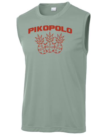 PikoPolo Pineapple Sport Muscle Tank