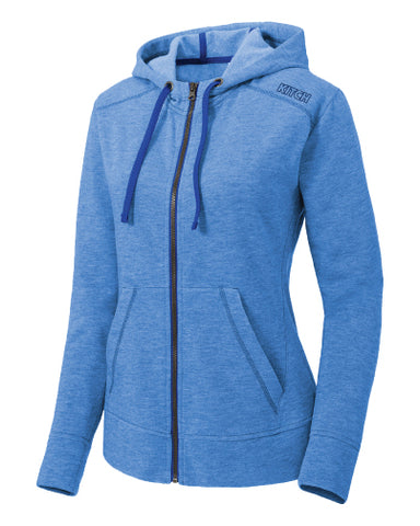 Kitch Triblend Full Zip Hooded Jacket