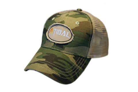 Atibal Woodland Camo Mesh Hat