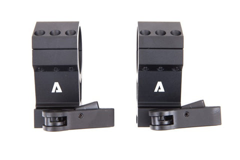 "ATIBAL Tactical Precision Rings (TPR) 30mm Quick Detach 1"" Height (PAIR)"