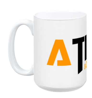 ATIBAL White Coffee Mug - ATIBAL  - 1