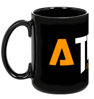 ATIBAL Black Coffee Mug - ATIBAL  - 1