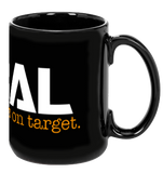 ATIBAL Black Coffee Mug - ATIBAL  - 2