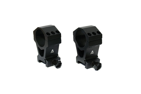 "ATIBAL Tactical Precision Rings (TPR) 30mm Thumbscrew 1"" Height (PAIR)"