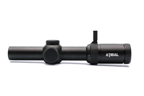 1-8x Atibal XP8 with Rapid View lever 5.56 Tactical Diamond Reticle TDR BDC Reticle Second Focal Plane (SFP) - ATIBAL  - 7