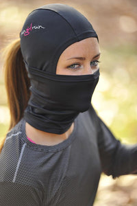 Athletic balaclava for women's running