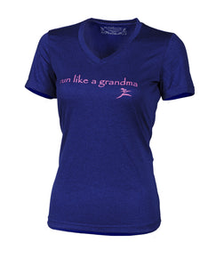 Run like a Grandma T-shirt, women's running