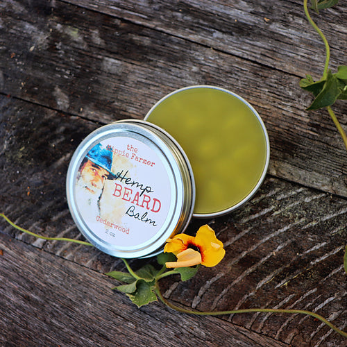 Hemp Beard Balm - 2 oz Tin - Cedarwood