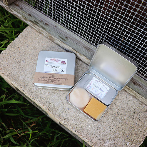 Travel Kit - Tooth Soap, Shampoo & Body Bar
