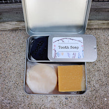 Load image into Gallery viewer, Travel Kit - Tooth Soap, Shampoo & Body Bar