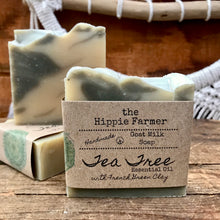 Load image into Gallery viewer, Goat Milk Soap - Tea Tree