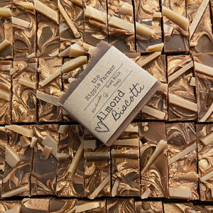 Goat Milk Soap - Almond Biscotti - Seasonal Bar 4.5oz