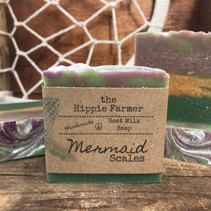 Goat Milk Soap - Mermaid Scales