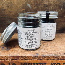 Load image into Gallery viewer, Black Healing & Drawing Salve - 0.35oz Tube or 1oz Jar