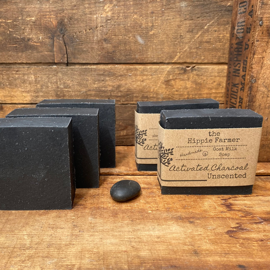 Goat Milk Soap - Activated Charcoal - Unscented