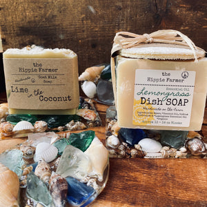 Shells & Sea Glass Soap Dish - Rectangle, Square or Circle