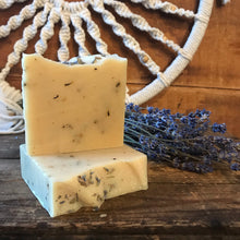 Load image into Gallery viewer, Goat Milk Soap - Lavender Essential Oil