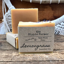 Load image into Gallery viewer, Goat Milk Soap - Lemongrass Essential Oil