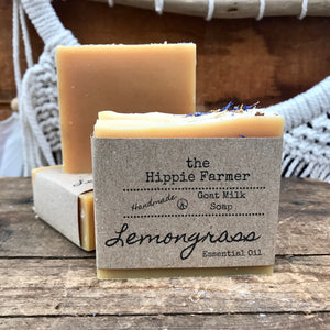 Goat Milk Soap - Lemongrass Essential Oil