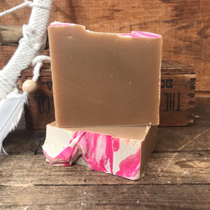 Raspberry Milk Stout - Beer Milk Soap - 4.5 oz
