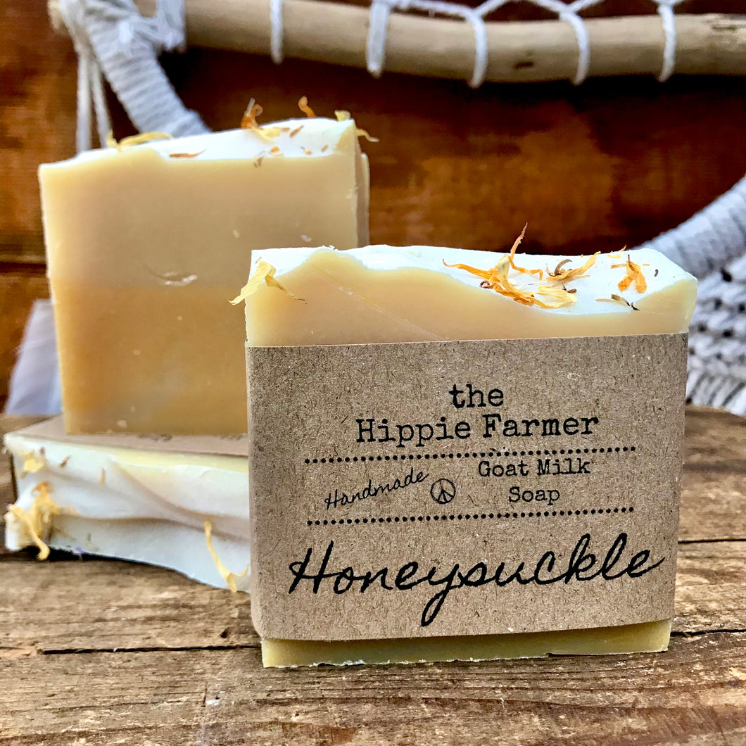 Goat Milk Soap - Honeysuckle