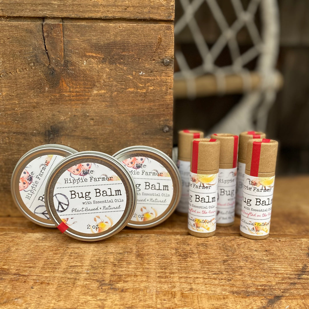 Bug Balm - Essential Oils - 4oz, 2oz or Tube