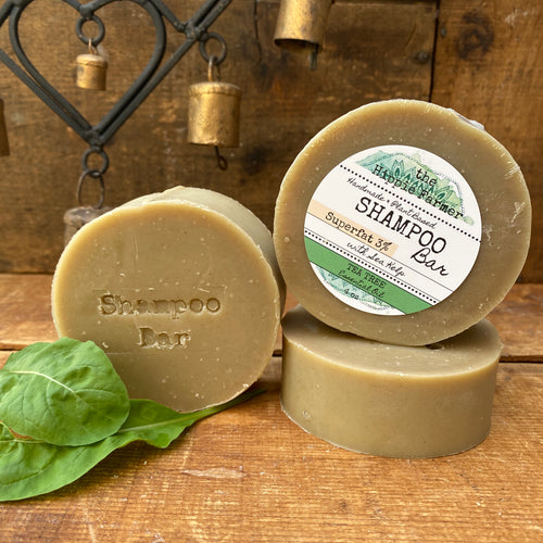 Tea Tree Shampoo Soap Bar 3% or 10% Superfat with Organic Sea Kelp
