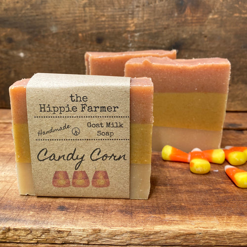 Goat Milk Soap - Candy Corn