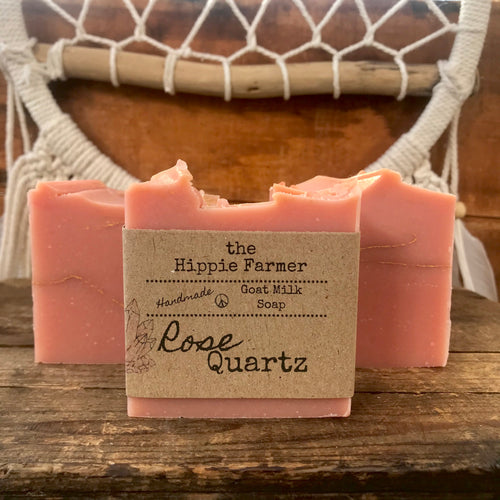 Goat Milk Soap - Rose Quartz