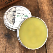 Load image into Gallery viewer, Hemp Beard Balm - 2 oz Tin - Tea Tree