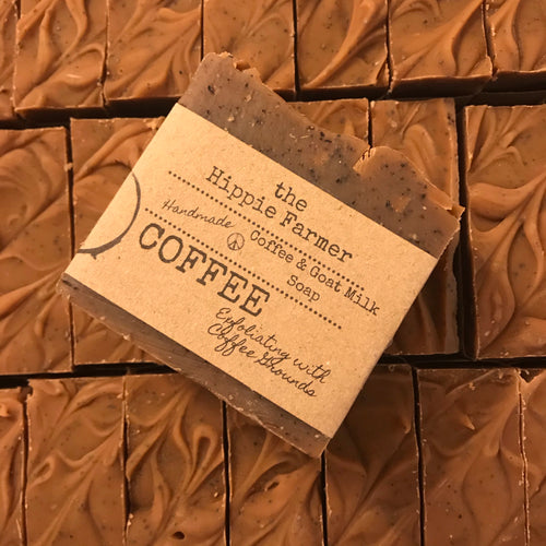 Coffee - Goat Milk Soap - 5oz