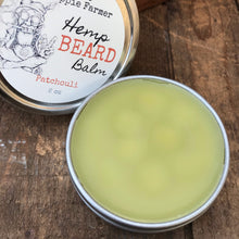 Load image into Gallery viewer, Hemp Beard Balm - 2 oz Tin - Patchouli