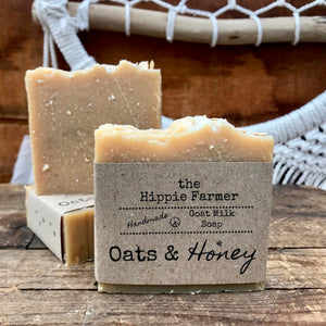 Goat Milk Soap - Oats & Honey