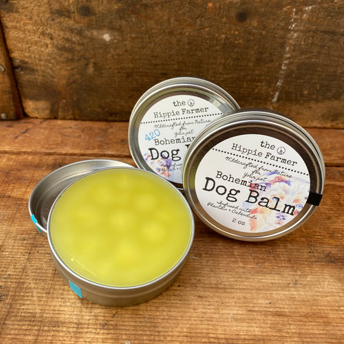 Bohemian Dog Balm - Plain or 420 - 2oz