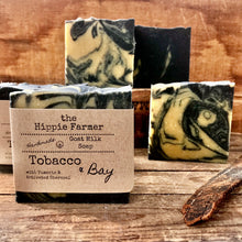 Load image into Gallery viewer, Goat Milk Soap - Tobacco & Bay