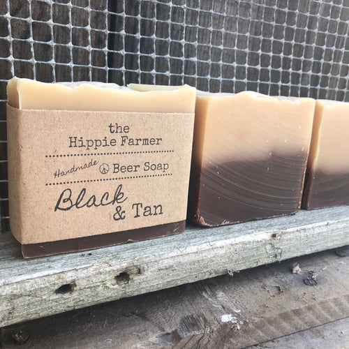 Black & Tan - Beer Milk Soap - 5oz