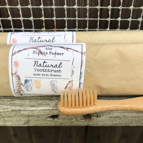 Natural Soft Bamboo Toothbrush