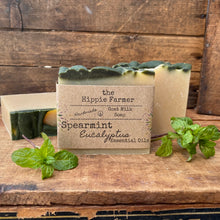 Load image into Gallery viewer, Goat Milk Soap - Spearmint Eucalyptus Essential Oils