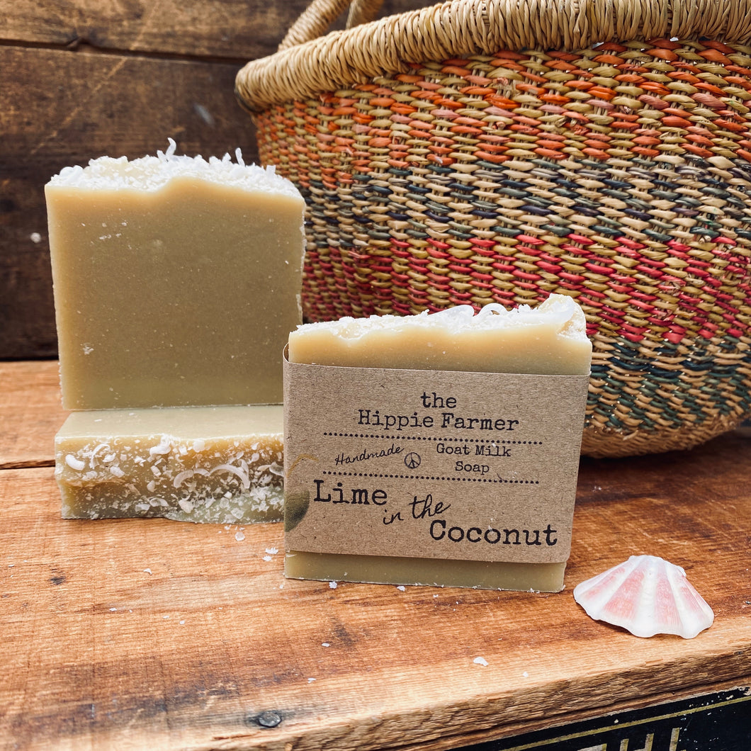 Goat Milk Soap - Lime in the Coconut