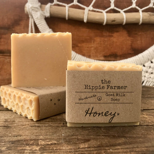 Goat Milk Soap - Honey - Local Raw