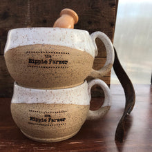Load image into Gallery viewer, Hand Thrown Ceramic Shave Mug - by Mud & Yarn