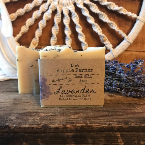 Goat Milk Soap - Lavender Essential Oil