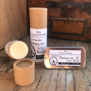 Natural Lip Balm - Tube or Tin