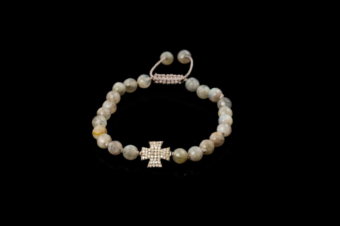 cross diamond bracelet