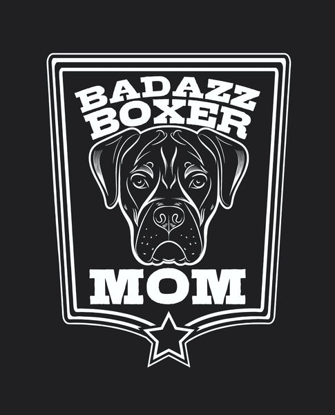 Badazz Boxer Mom Coffee Mug - DAKOTA DOG COMPANY