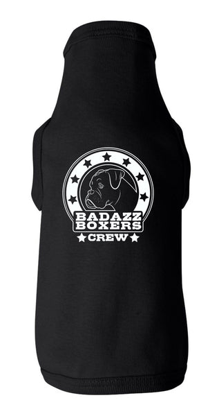 Badazz Boxers Crew Dog Tee - DAKOTA DOG COMPANY