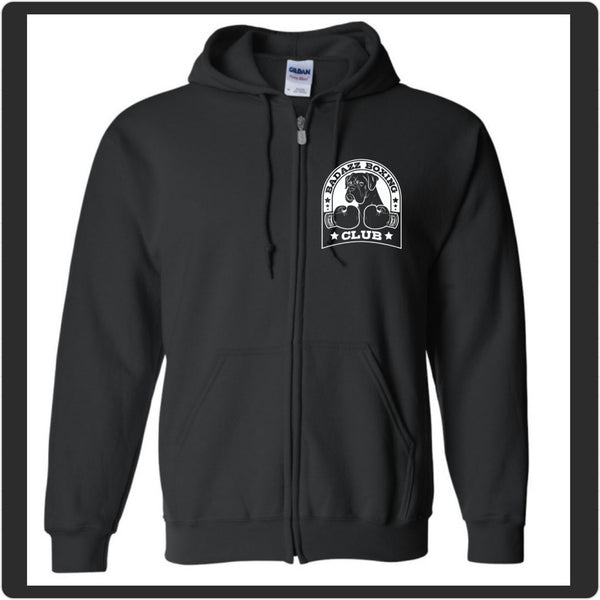 Badazz Boxing Club Zip Up