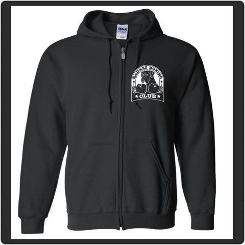 Badazz Boxing Club Zip Up - DAKOTA DOG COMPANY